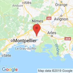 Camargue Karte.Clos D Elyan 14p 0433 01 02