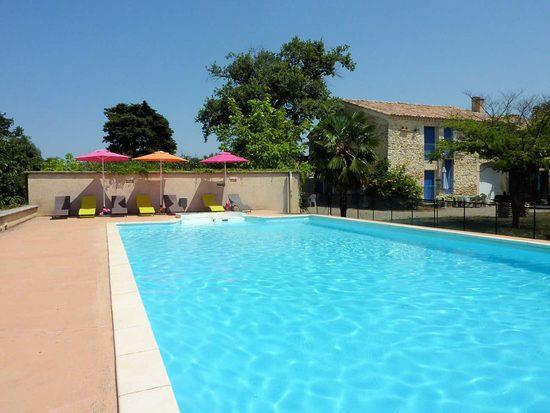 Ferienwohnung Bei Visan, Vaucluse, Grosser Pool Und Park, Landlage